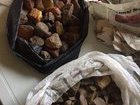 Police seized one ton of amber in Volyn region. PHOTOS