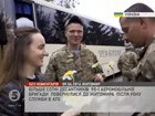 Paratroopers of the 95th Airmobile Brigade returned to Zhytomyr from ATO zone. VIDEO