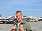 Su-25 deceased pilot was Senior Lieut. Yehor Bolshakov from Simferopol, - General Staff. PHOTO
