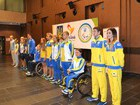 Kyiv welcomes Ukraine's Para athletes leaving for Rio Paralympics. PHOTOS