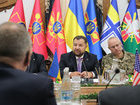 Defense minister, chief of general staff meet with strategic NATO advisers. PHOTOS