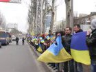 """East and West together,"" ""Ukraine is not Russia"": pro-Ukraine rally took place in Donetsk three years ago. VIDEO"
