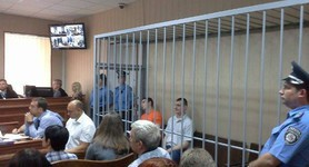 Berkut officers trial feels dramatic while examination is under way. PHOTOS