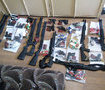 """11 pump guns, 500 rounds, 19 pistols"": 30 unknowns detained at Cherkasyoblenerho office. VIDEO+PHOTOS"