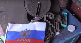 "Undercover ""DPR"" terrorist group headed by police officer detained in Zaporizhia region. VIDEO"