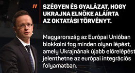 Hungary on Ukraine Education Act: Ukraine might forget of European integration. PHOTO