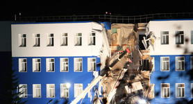 23 killed in the military barracks collapse in Omsk, Russia. VIDEO
