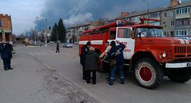 Explosions still heard near Balakliia, rescuers use armored firefighting vehicles, - State Emergency Service. PHOTOS+VIDEO
