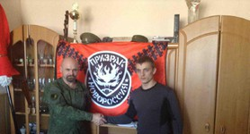 Russian Emergency Ministry employee Sergey Dmitriev awarded by Donbas terrorists for zeal in slaughtering, - media. PHOTOS