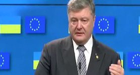 EU confirmed Russia sanctions will continue, - Poroshenko. VIDEO