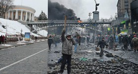 One year after Maidan execution. PHOTOS