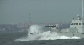 Four gunboats of Ukraine Armed Forces tested in Odesa waters. VIDEO