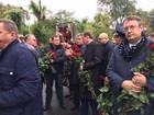Dnipro Сity residents honor memory of murdered police officers, - MP Herashchenko. PHOTOS