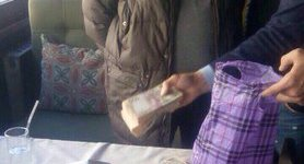 Pechersk district official nabbed in Kyiv accepting 810,000 hryvnia in bribe, - prosecutor`s office. PHOTOS