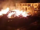 Major fire erupted in Viktoria childrens` camp in Odesa on weekend, killing three girls. VIDEO