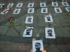 Memory of Gongadze honored on Kyiv's Maidan Nezalezhnosti 16 years after his disappearance. PHOTOS