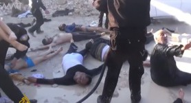 Syria gas attack: Hundreds hospitalized with phosphorus poisoning. VIDEOS 18+