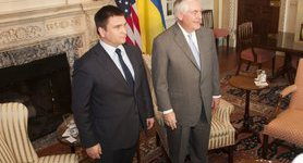 Tillerson promised continued support for Ukraine in fight against Russian aggression, - Klimkin