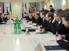 Ukrainian president calls today`s approval of constitutional amendments by Rada historic