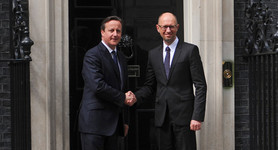 Ukraine`s economy follows suit of Great Britain, - Yatseniuk. PHOTO