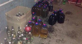 Tax police reveals restaurant that illegally produced and sold alcohol in Donetsk region. PHOTOS