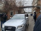 Yanukovych arrives at Rostov court accompanied by traffic police. PHOTOS