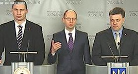 Deputies Cannot Be Given up for Recycle as Rybak Does it, Yatsenyuk. VIDEO