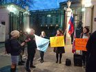 Rally against Crimea occupation and political reprisals took place in Warsaw. PHOTOS